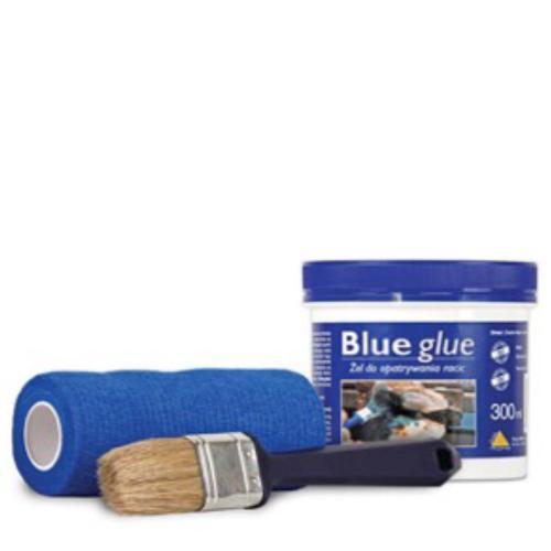 Blauer Kleber Blue Glue